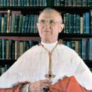 Cardinal Ritter standing